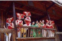 野三坡民族表演